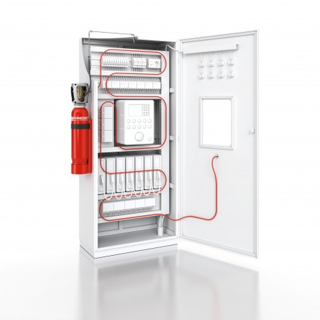 Kompletny system gaszenia CO 2 - AFFS-RACK 5 kg