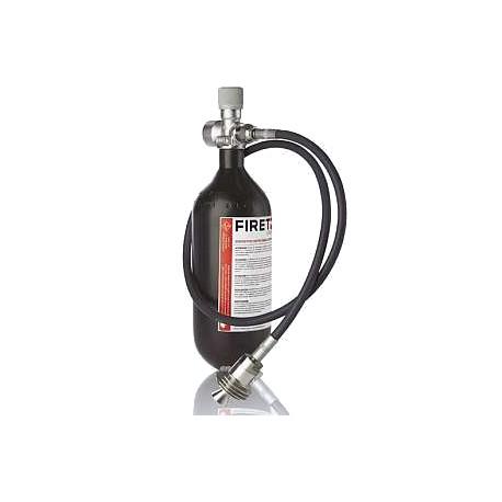 FIRET 1 litr + wąż elastyczny 1m + wąż elastyczny 0,5m (OCTOPUS)