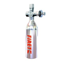 FIRET 0,6 litra + czujnik wypływu 2A/24V + wąż elastyczny 1m (GENIUS)