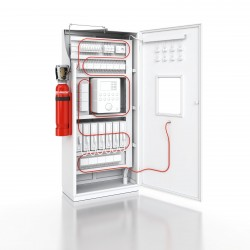 System gaszenia CO2 z centralą sterującą AFFS-RACK-I 10 kg (cena z montażem)