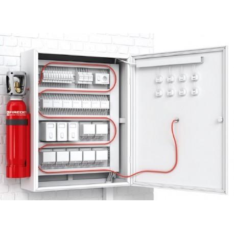 System gaszenia CO2 - AFFS-RACK-D 5 kg (cena z montażem)